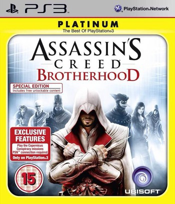 Assassin's Creed: Brotherhood PS3 coverMB (BLES00910)
