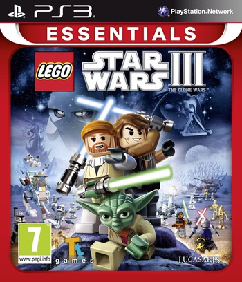 LEGO Star Wars III: The Clone Wars PS3 coverMB (BLES00934)