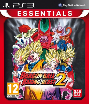 Dragon Ball: Raging Blast 2 PS3 coverMB (BLES00978)