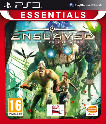 Enslaved: Odyssey to the West PS3 coverMB (BLES00989)