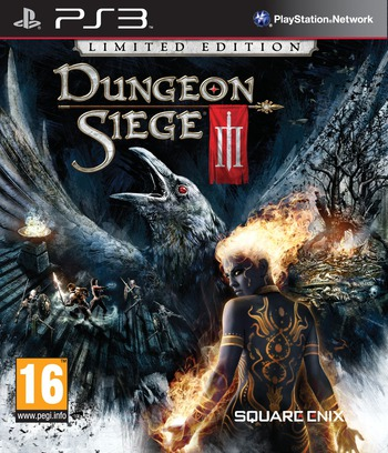 Dungeon Siege III PS3 coverMB (BLES01161)