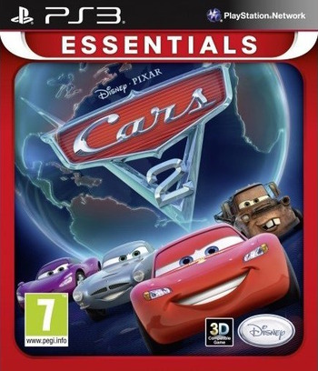 Cars 2: The Video Game PS3 coverMB (BLES01242)
