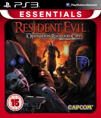 Resident Evil : Operation Raccoon City PS3 coverMB (BLES01288)