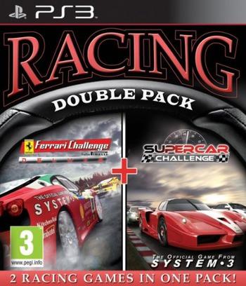Ferrari Challenge: Trofeo Pirelli + Supercar Challenge PS3 coverMB (BLES01451)