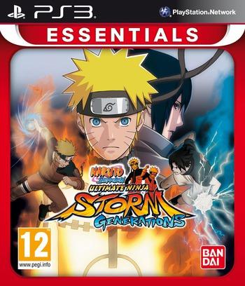 Naruto Shippuden: Ultimate Ninja Storm 3 Array coverMB (BLES01764)