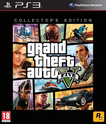 Grand Theft Auto V PS3 coverMB (BLES01807)
