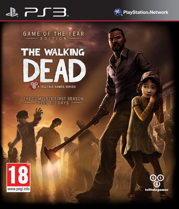The Walking Dead: A Telltale Games Series PS3 coverMB (BLES01833)