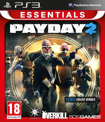Payday 2 PS3 coverMB (BLES01902)
