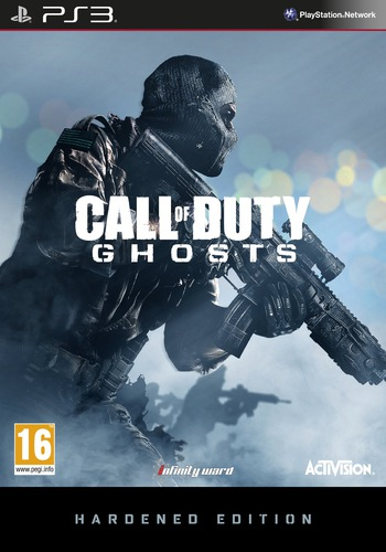 Call of Duty: Ghosts PS3 coverMB (BLES01945)
