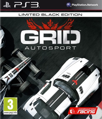GRID Autosport PS3 coverMB (BLES02038)