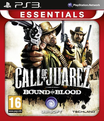 Call of Juarez: Bound in Blood PS3 coverMB (BLES30347)