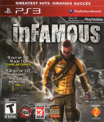 inFamous PS3 coverMB (BCUS98154)