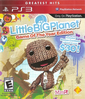 LittleBigPlanet (Game of the Year Edition) Array coverMB (BCUS98208)