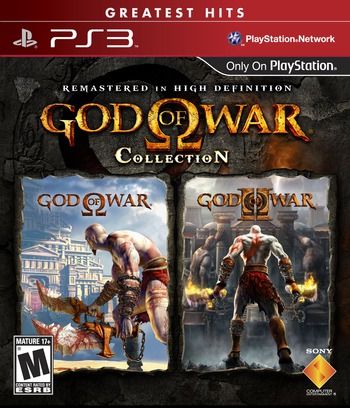 God of War Collection PS3 coverMB (BCUS98229)