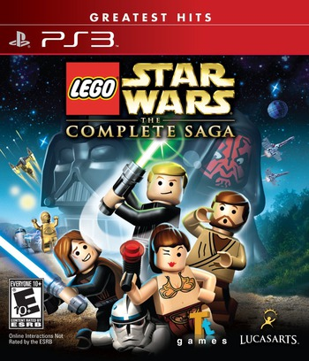 LEGO Star Wars: The Complete Saga PS3 coverMB (BLUS30079)