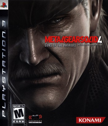 Metal Gear Solid 4: Guns of the Patriots Array coverMB (BLUS30109)