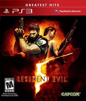 Resident Evil 5 PS3 coverMB (BLUS30270)