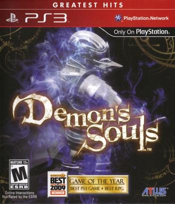 Demon's Souls PS3 coverMB (BLUS30443)