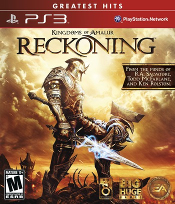 Kingdoms of Amalur: Reckoning PS3 coverMB (BLUS30710)