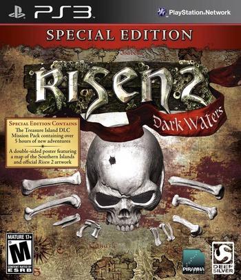 Risen 2: Dark Waters PS3 coverMB (BLUS30800)
