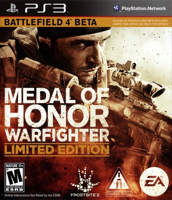 Medal of Honor: Warfighter PS3 coverMB (BLUS30990)