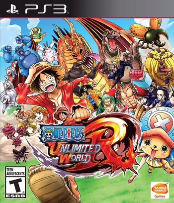 One Piece: Unlimited World Red PS3 coverMB (BLUS31427)