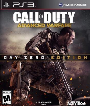 Call of Duty: Advanced Warfare PS3 coverMB (BLUS31446)