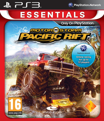 MotorStorm: Pacific Rift PS3 coverMB2 (BCES00129)