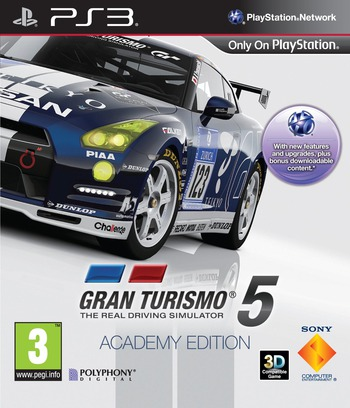 Gran Turismo 5 PS3 coverMB2 (BCES00569)