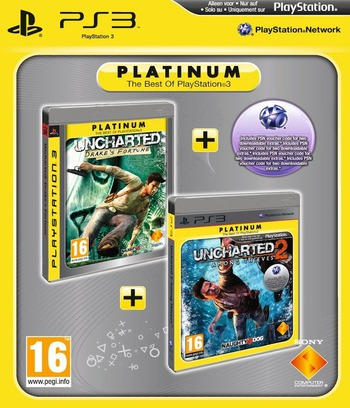 Uncharted 2: Among Thieves PS3 coverMB2 (BCES00727)