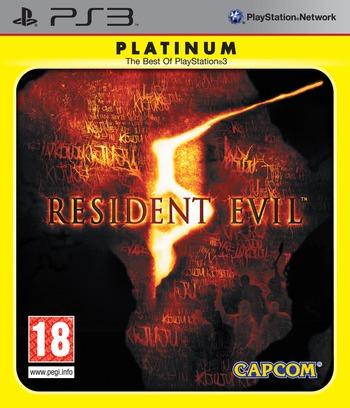 Resident Evil 5 PS3 coverMB2 (BLES00485)