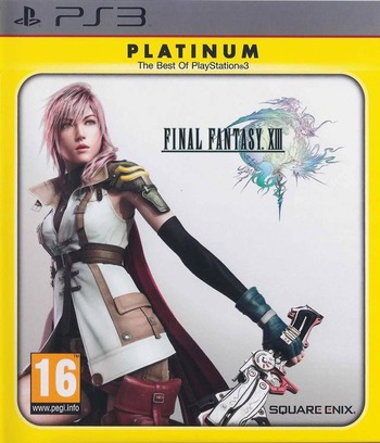 Final Fantasy XIII PS3 coverMB2 (BLES00783)
