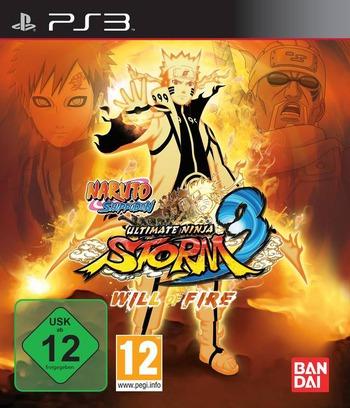 Naruto Shippuden: Ultimate Ninja Storm 3 Array coverMB2 (BLES01764)