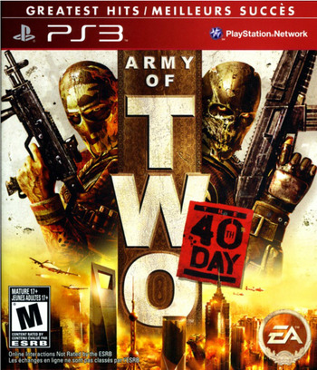 Army of Two: The 40th Day PS3 coverMB2 (BLUS30408)