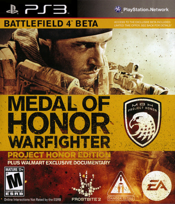 Medal of Honor: Warfighter PS3 coverMB2 (BLUS30990)