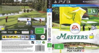 Tiger Woods PGA Tour 12: The Masters PS3 cover (BLES01177)