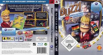 Buzz! Deutschland Superquiz PS3 cover (BCES00350)