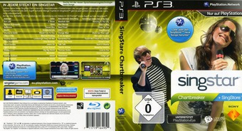 SingStar: Chartbreaker PS3 cover (BCES00640)