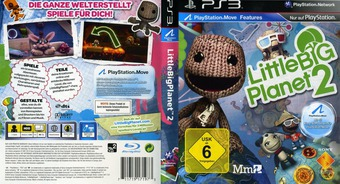 LittleBigPlanet 2 PS3 cover (BCES01086)