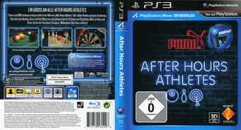 After Hours Athletes PS3 cover (BCES01335)