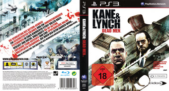 Kane & Lynch: Dead Men PS3 cover (BLES00167)