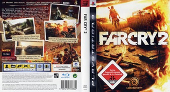 Far Cry 2 PS3 cover (BLES00324)