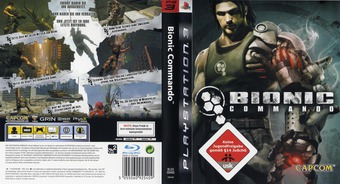Bionic Commando PS3 cover (BLES00465)
