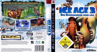 Ice Age 3: Die Dinosaurier Sind Los PS3 cover (BLES00522)