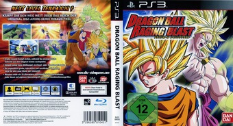 Dragon Ball: Raging Blast PS3 cover (BLES00693)