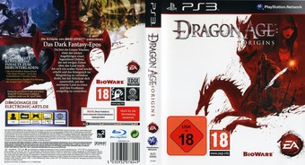 Dragon Age: Origins PS3 cover (BLES00699)