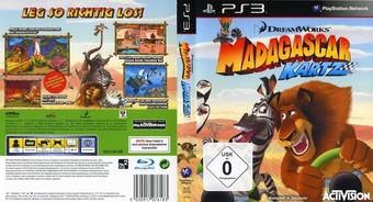 Madagascar Kartz PS3 cover (BLES00735)
