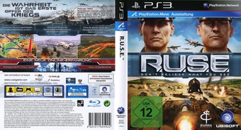Ruse: Don't Believe What You See PS3 cover (BLES00785)