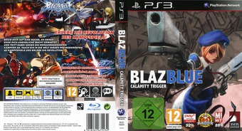 BlazBlue: Calamity Trigger PS3 cover (BLES00820)