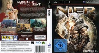 Nier PS3 cover (BLES00826)